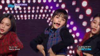 【TVPP】CLC – BLACK DRESS, 씨엘씨 - 블랙드레스 @Show Music Core 2018
