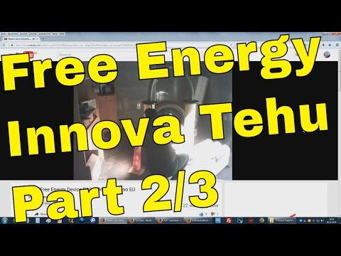 Free Energy Generator Innova Tehu Live Streaming Demo Part 2