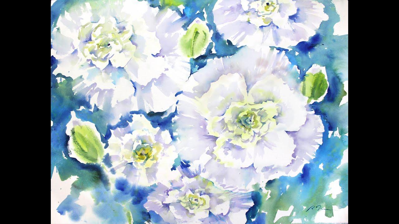 White Carnations By Sumiyo Toribe Youtube