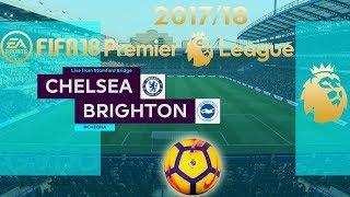 FIFA 18 Chelsea vs Brighton | Premier League 2017/18 | PS4 Full Match