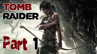 Tomb Raider 2013 : Part 1- Shipwrecked (No Commentary)