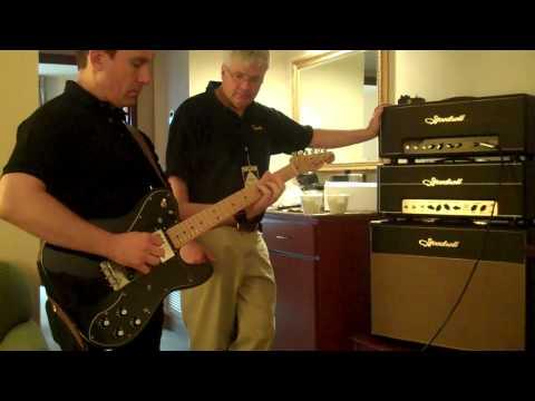 Austin Amp Show Goodsell Black Dog 50 Demo - Billy Penn 300g