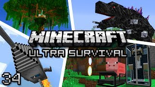 Minecraft: Ultra Modded Survival Ep. 34 -  KNIGHT PHANTOM!
