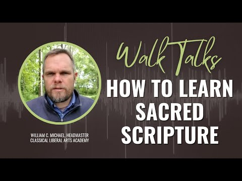 How to Learn Sacred Scripture