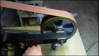 Home Made Belt Grinder For Making Knives.