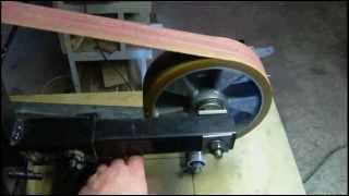 Home Made Belt Grinder For Making Knives.