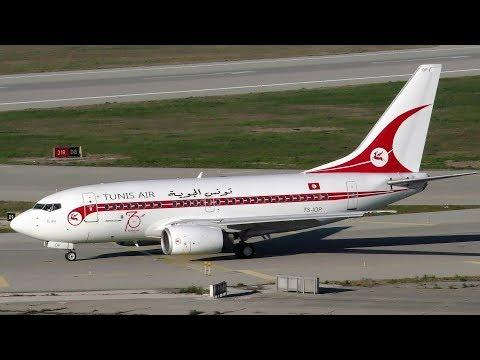 Boeing 737 600 Tunis Air Reprise Ancienne Livrée 06 Janvier Marseille