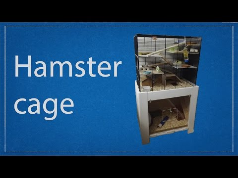 Wooden Hamster cage // Woodworking