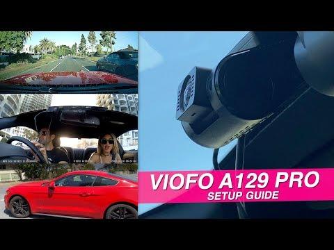 Viofo A129 Pro 4K Dash Cam | Setup Guide & Unboxing