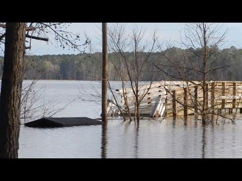 Jordan Lake Flood, Небольшое наводнение