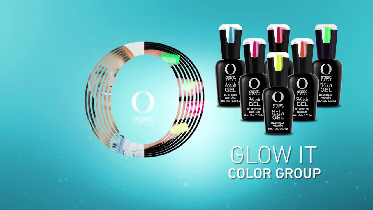 Glow It / Color Gel By Organic® Nails - YouTube