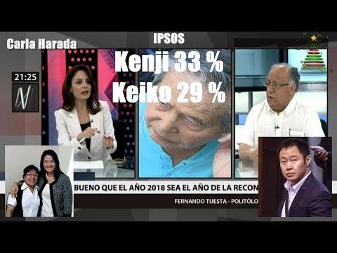 """Fernando Tuesta: """"Keiko ha perdido el control de Fuerza Popular y tendrá que negociar con su padre"""""""