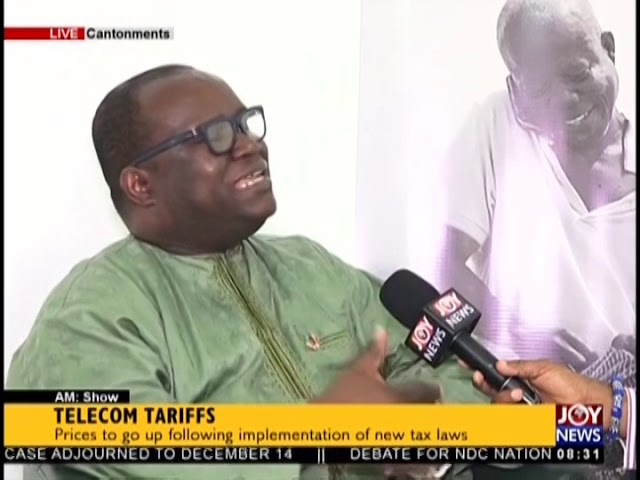 Telecom Tariffs - AM Show on JoyNews (18-10-18)