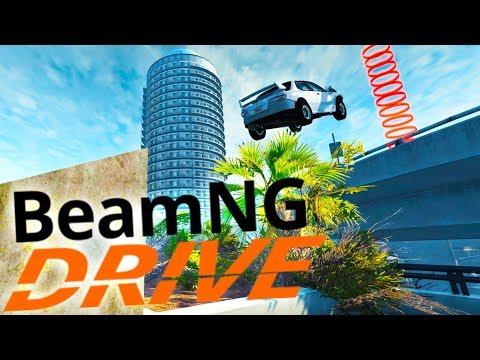 BeamNG Drive - Becoming A Stuntman! - Hard Work Scenarios - BeamNG Drive Gameplay Highlights