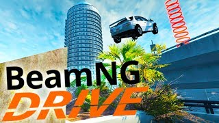 BeamNG Drive - Becoming A Stuntman! - Hard Work Scenarios - BeamNG Drive Gameplay Highlights