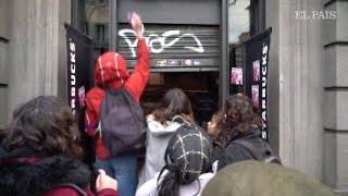 La lucha por la igualdad de género desborda las calles de Barcelona   #8M