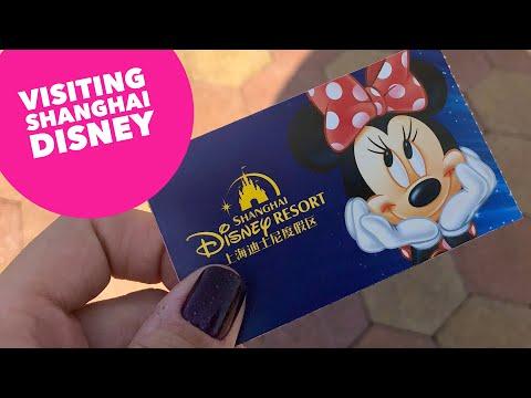 Visiting Disneyland in China + Shanghai City Lights