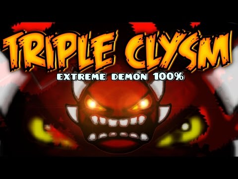 CATACLYSM 3 TIMES IN A ROW!! - TRIPLE CLYSM 100% Complete [EXTREME DEMON] (Stream) - by SebQuero11 - 동영상