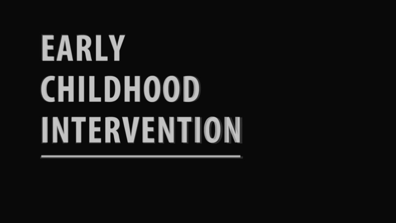 Early Childhood Interventions: Training