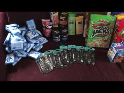 Rite Aid couponing haul 05/29/17