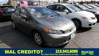 2012 Honda Civic, 100% Política de Revisión de la Aplicación