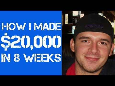 How I Made $20,000 in 8 Weeks (Beginner Friendly!)
