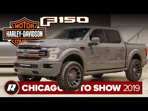 First look: New Harley-Davidson Ford F-150 | Chicago 2019