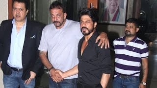 Shahrukh Khan Meets Sanjay Dutt At His House