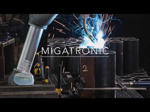 CoWelder - Collaborative welding robot (or Cobot) by Migatronic and Universal robots