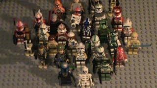 All of My Custom Lego Star Wars Minifigs So far