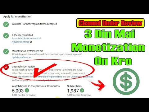I have completed 1000 Subs & 4000hr watch time But Not Enable my MONETIZATION. This problme (Fix it)