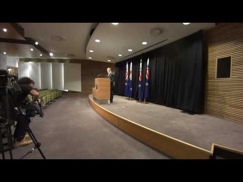 PM John Key's Post-Cabinet Press Conference 5/9/16