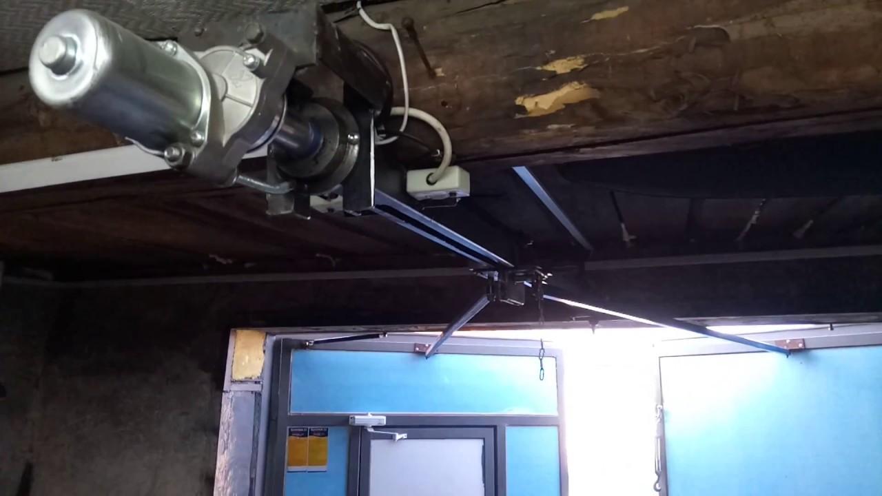 винтовой линейный привод для гаражных ворот