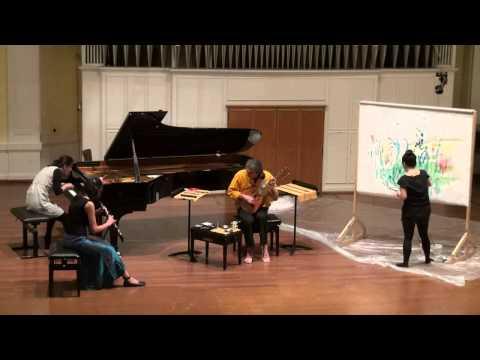 Freie Improvisation im Quartett (Musik Akademie Basel)