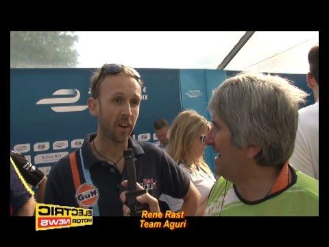 Rene Rast parla del suo debutto in Formula E - Electric Motor News in Formula E a Berlino