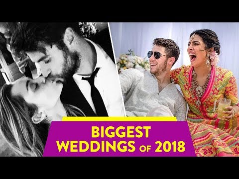 The Most Memorable Celebrity Weddings Of 2018   ⭐OSSA
