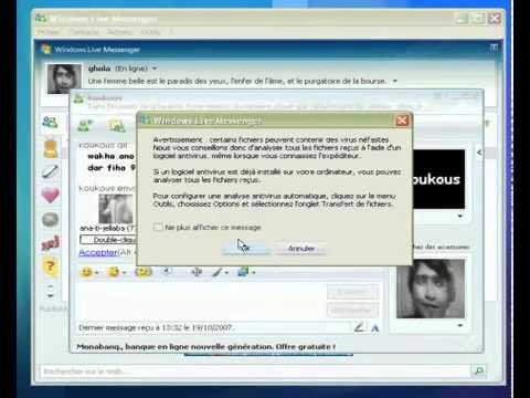 Maroc Insolite Msn windows Live Messenger hacker Logiciel pc wifi facebook cb compte jeux