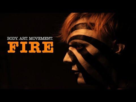 Body Art Movement Fire
