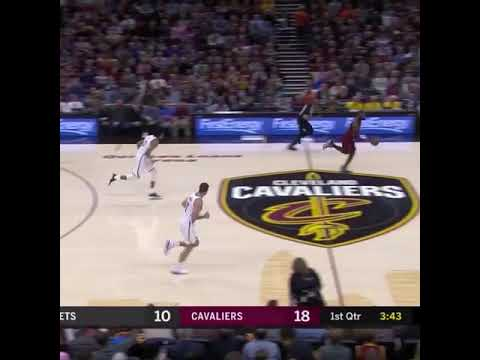 7a6727716388 LEBRON JAMES MISSES WIDE OPEN DUNK - YouTube