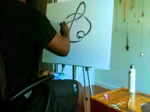 chrome music note painting!!