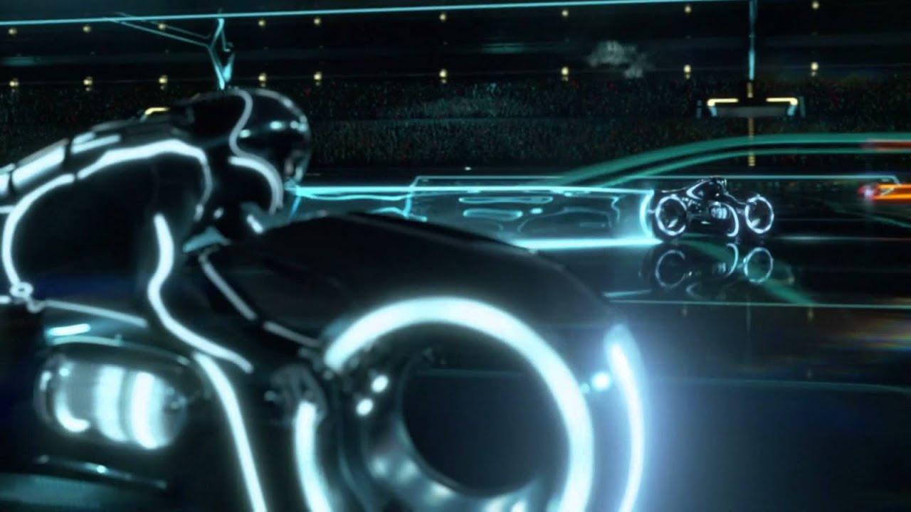 Tron Legacy Car Wallpaper Light Cycle Legacy Hd Youtube