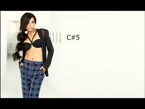 Naya Rivera Vocal Range: C3 - A5 - B5