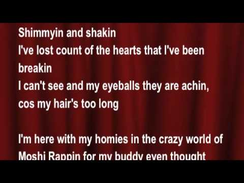 Moshi Monsters - Moptop Tweenybop (My Hair's Too Long) - Zack Binspin FT: Blingo (lyrics) - Karaoke