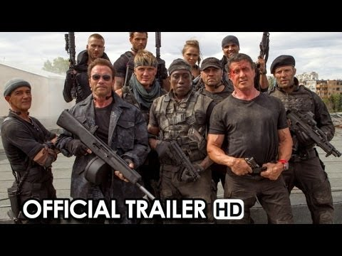 THE EXPENDABLES 3 Trailer #1 (2014) HD streaming vf