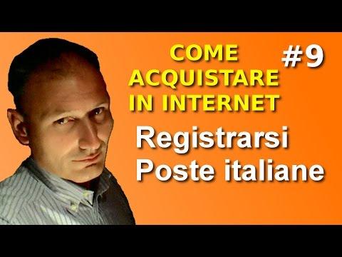# 9 Registrarsi a Poste Italiane - Maggiolina - Vendere e comperare su internet