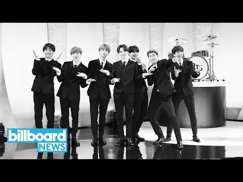 """BTS Channel the Beatles During """"Boy With Luv"""" Performance on 'The Late Show' 