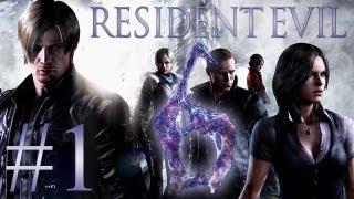 Resident Evil 6 #1 - Let