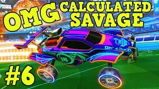 ROCKET LEAGUE: OMG, Calculated, Savage Moments! #6 Best Plays of The Week: Goals, Saves & More