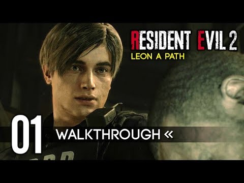 RESIDENT EVIL 2 REMAKE (Leon A/1st Run) PART 1 – Gameplay Walkthrough / No Commentary 【Full Game】