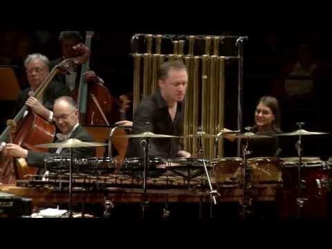Colin Currie - Rautavaara Percussion Concerto 'Incantations'